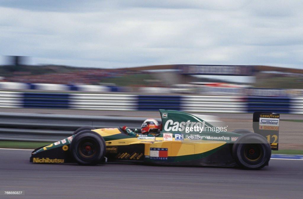 1992 British Grand Prix : News Photo