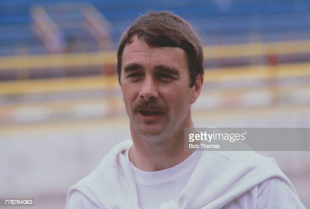 British racing driver Nigel Mansell, driver of the Canon Williams Honda Williams FW11 Honda RA166E 1.5 V6t pictured during the 1986 FIA Formula One...