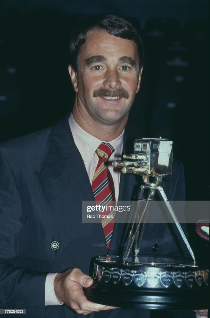 Racing Driver Nigel Mansell Wins SPOTY : News Photo