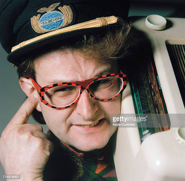 British radio and television presenter Timmy Mallett 12th February 1986