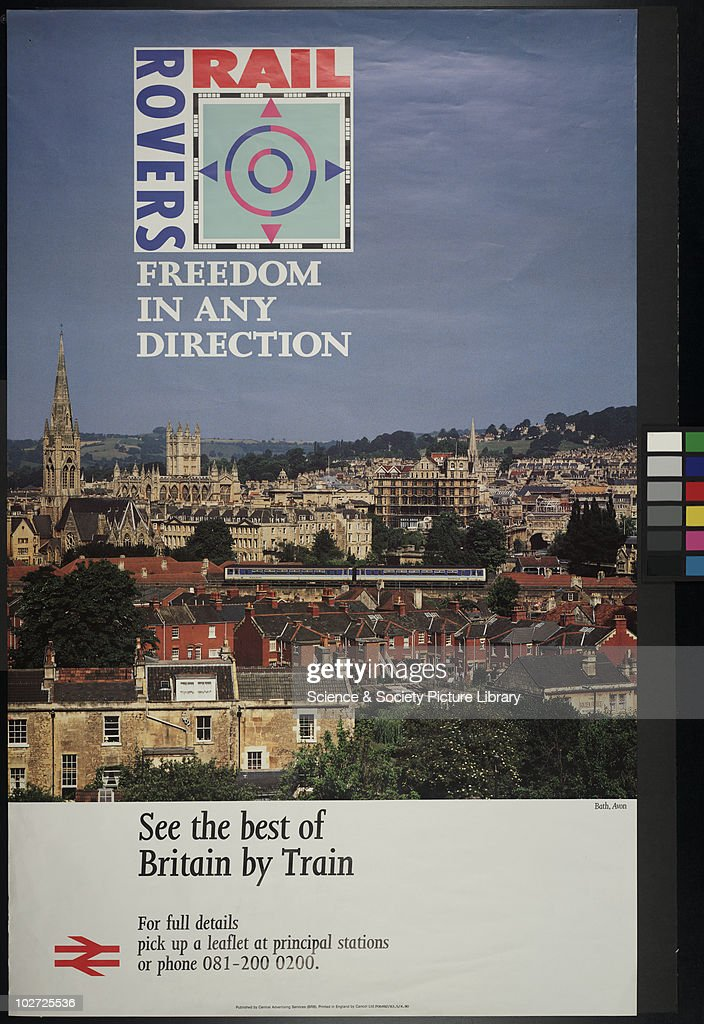 British Railway Poster  Rail Rivers, 1990  See the best of