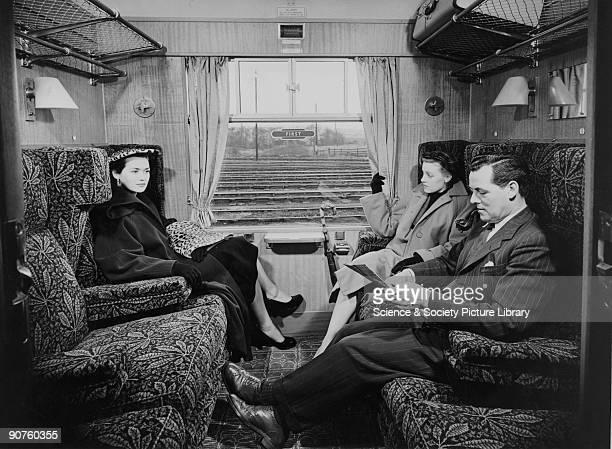 British Railway standard first class coach 1951