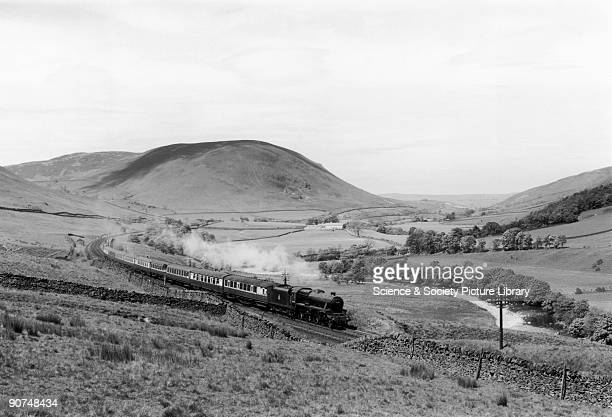 British Railways class 5 460 steam locomotive No 45435 in the Lune Valley Many artists and photographers can to view railways as an accepted part of...