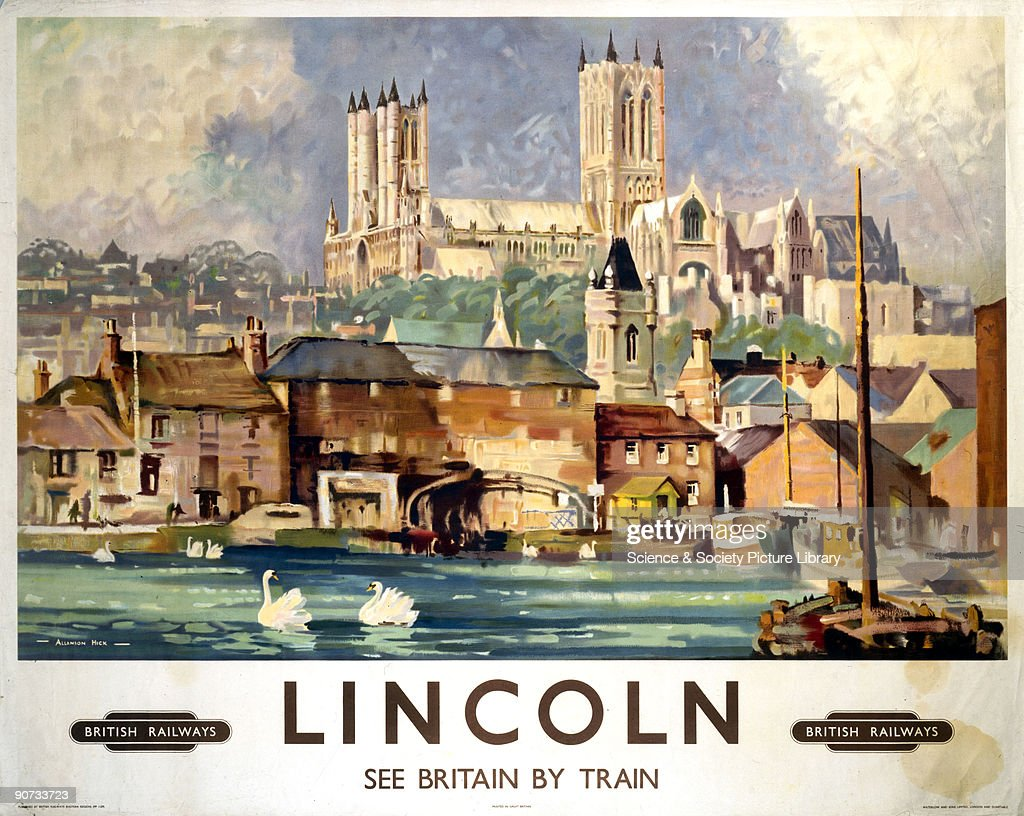 �Lincoln�, BR poster, 1948-1965. : News Photo