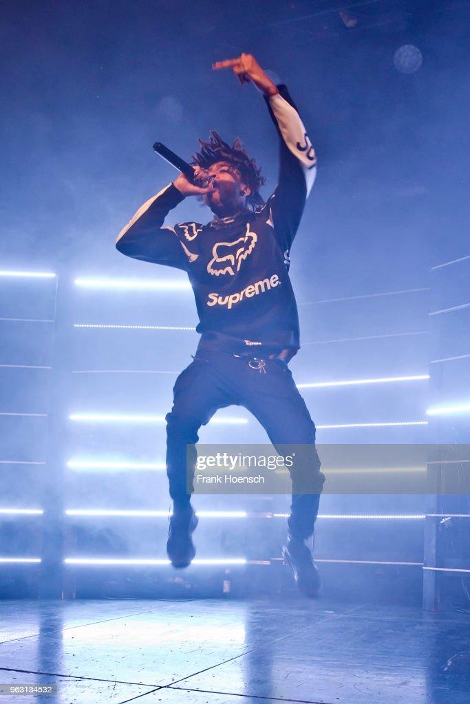 Scarlxrd Performs In Berlin