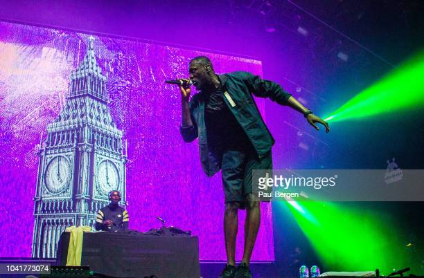 British rapper Stormzy performs at Lowlands festival Biddinghuizen Netherlands 18th August 2018