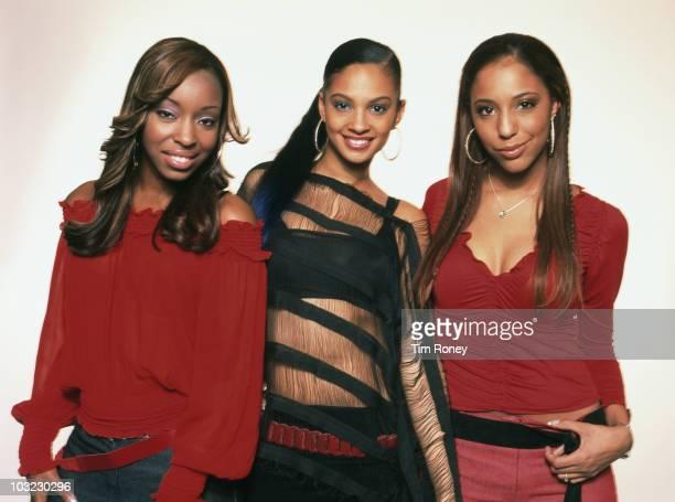British RB girl band MisTeeq June 2002 They are Alesha Dixon SuElise Nash and Sabrina Washington