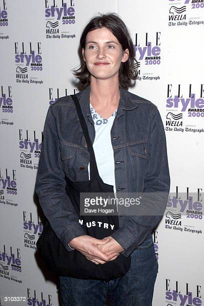 British reality television star Anna Nolan attends the Elle Style Awards on July 9 2000 in London