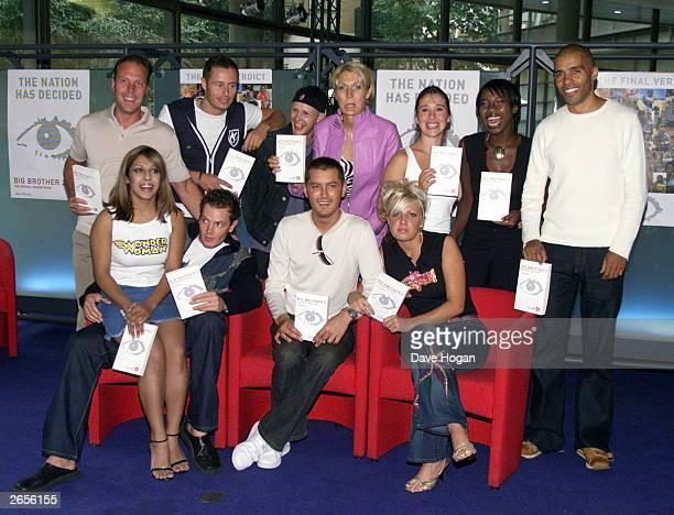 British reality TV stars Stuart Hosking Josh Rafter Paul Ferguson aka Bubble Penny Ellis Elizabeth Woodcock Amma Antwi Dean O'Loughlin Narinder Kaur...
