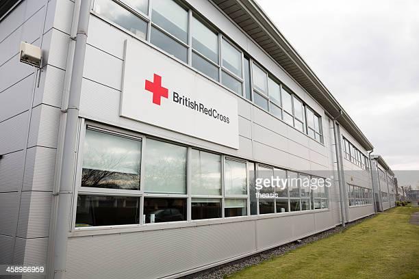 cruz roja de inglaterra oficinas, glasgow - theasis fotografías e imágenes de stock