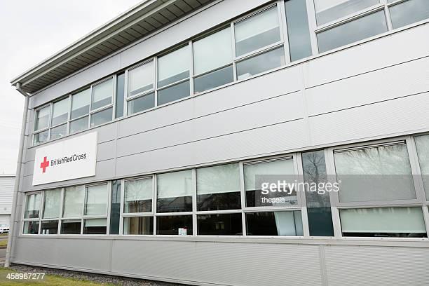 british red cross büros, glasgow - theasis stock-fotos und bilder