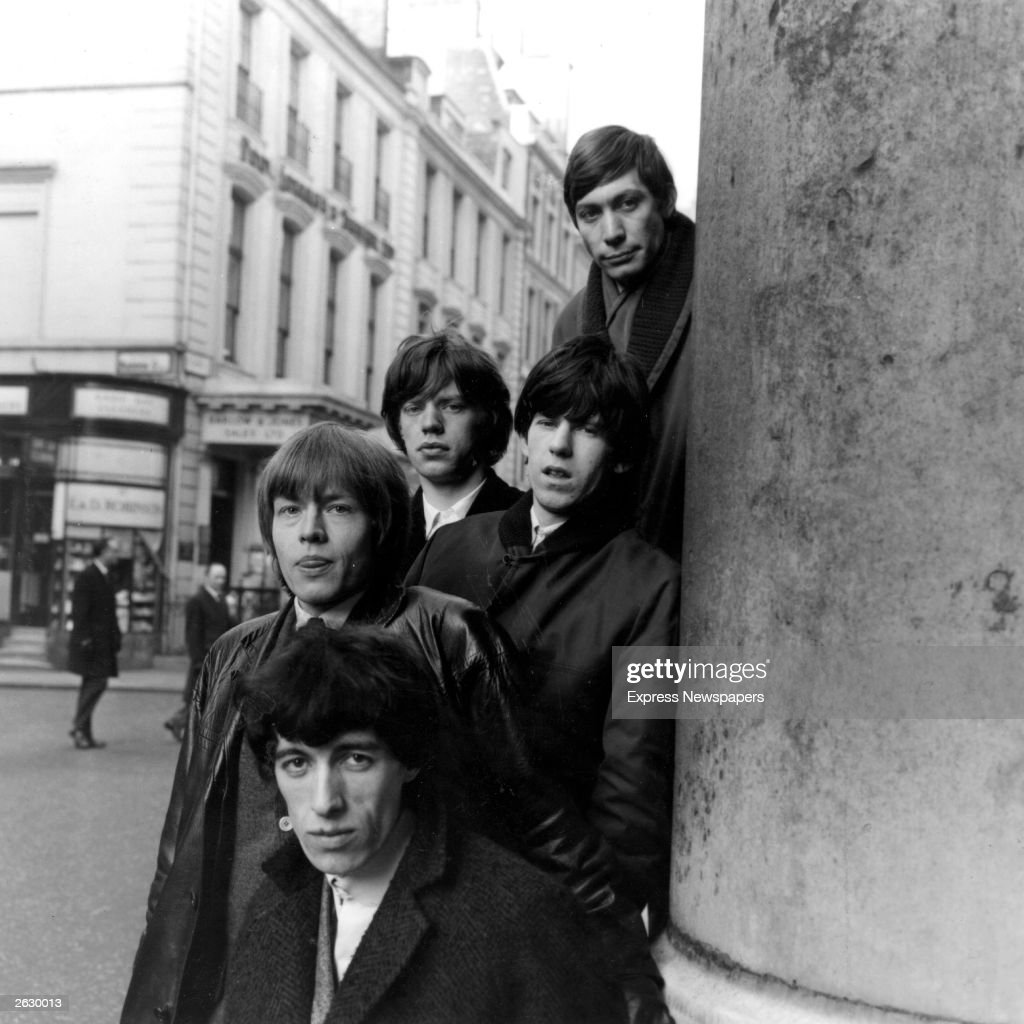 British rhythm and blues group The Rolling Stones on the streets of London. Original Publication: People Disc - HW0625
