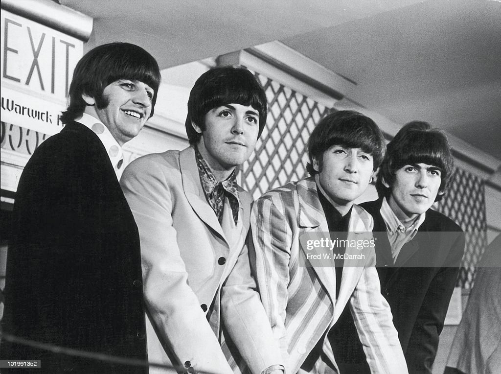 Beatles Press Conference : News Photo