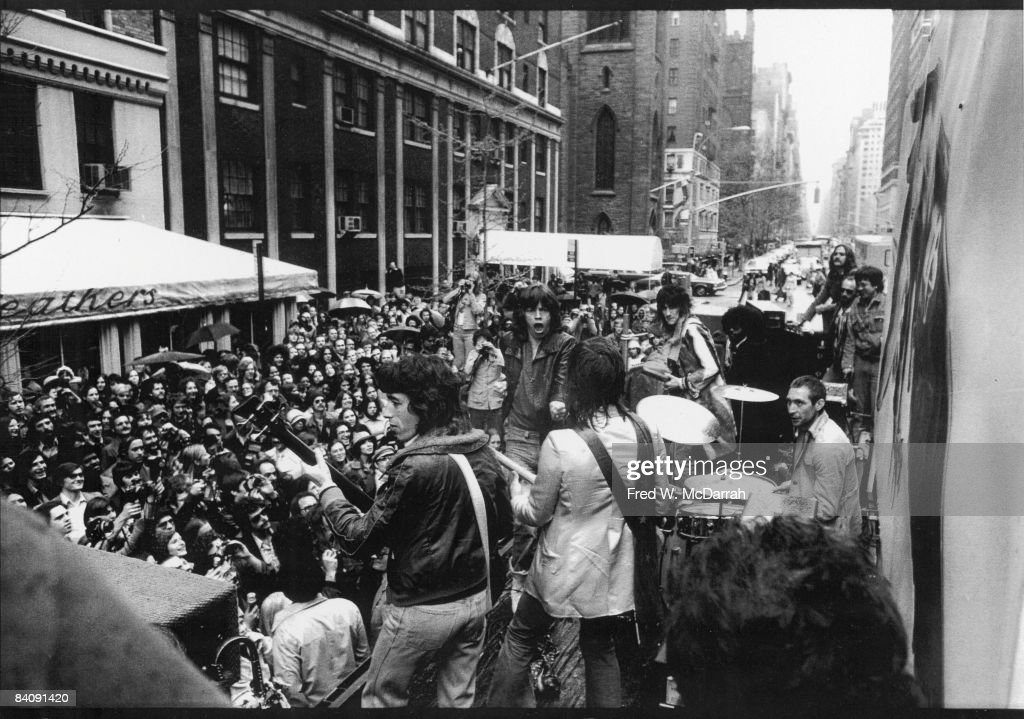 The Rolling Stones On 5th Avenue : News Photo