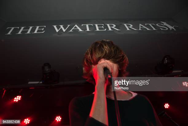 British rock band Moses performs on stage at Water Rats London on April 8 2018