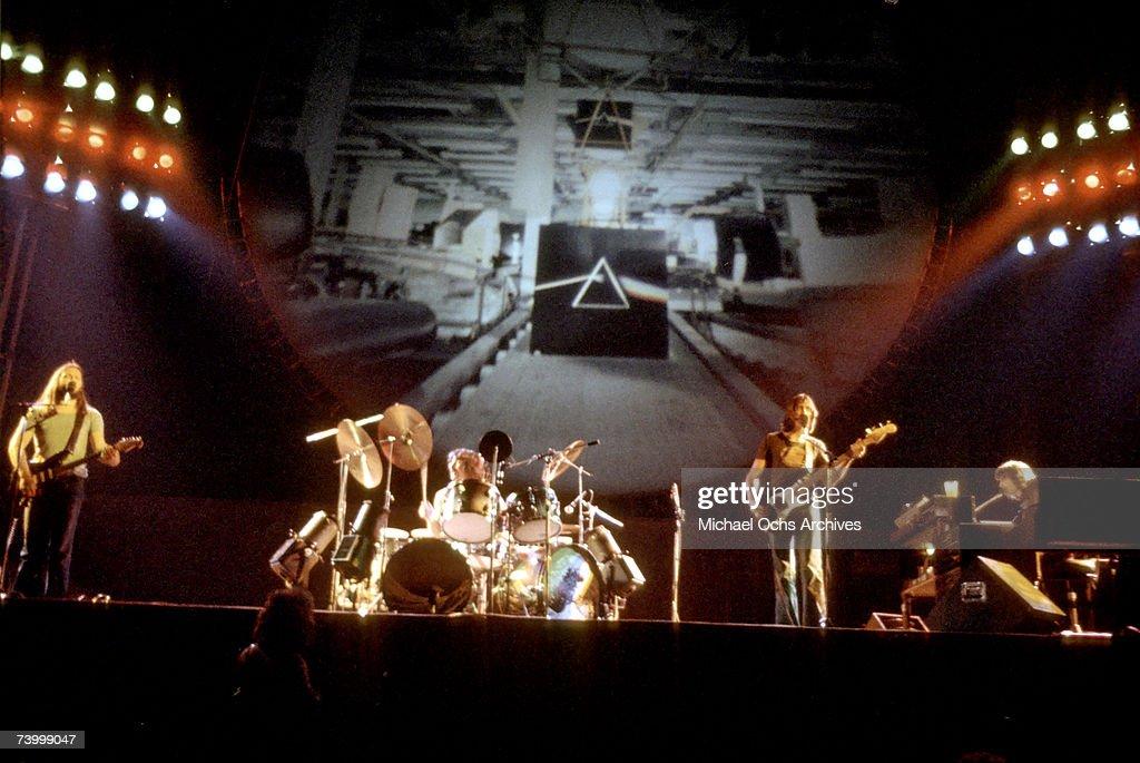 Pink Floyd Live In LA : News Photo