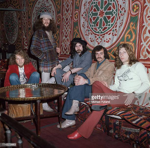 British rock group Jethro Tull London 11th March 1971 Left to right Martin Barre Ian Anderson Jeffrey Hammond Barriemore Barlow and John Evan