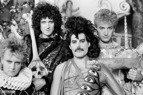 British Rock group Queen making a video for their latest single Its A Hard Life in Munich West Germany 22nd June 1984British Rock group Queen...