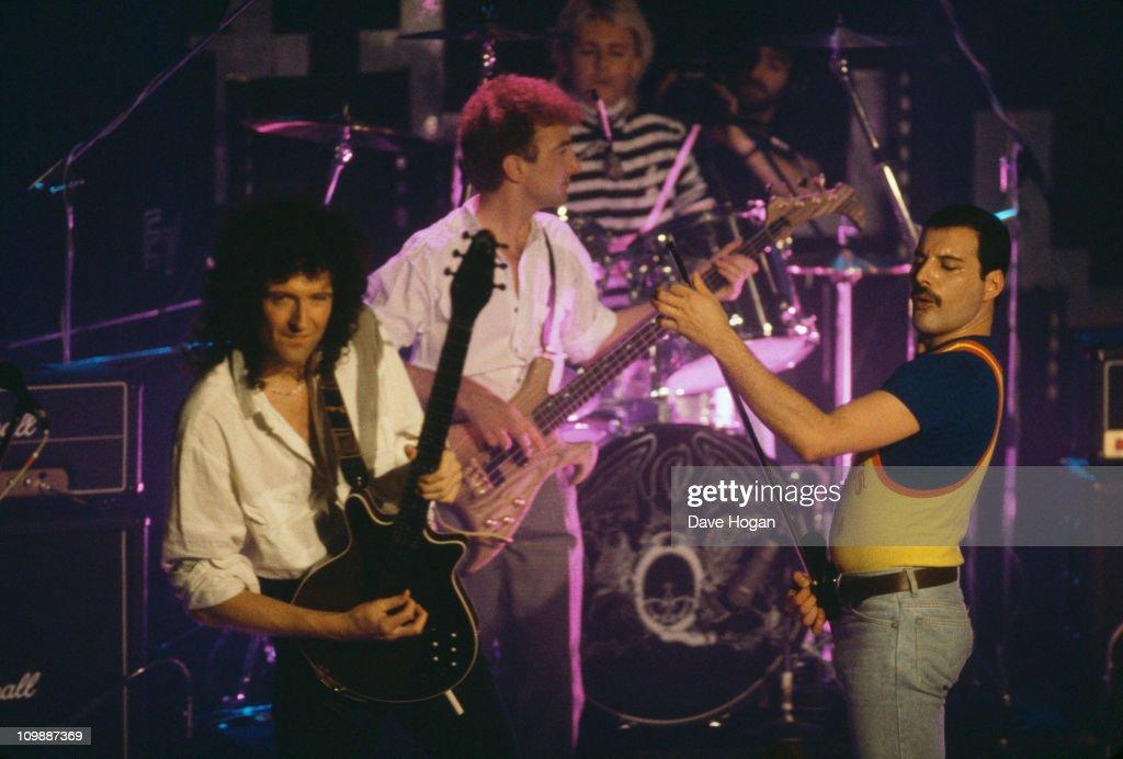 Queen On Stage : Fotografía de noticias