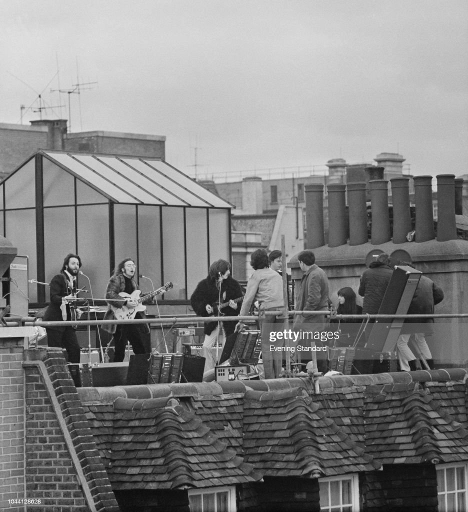 The Beatles' rooftop concert : News Photo