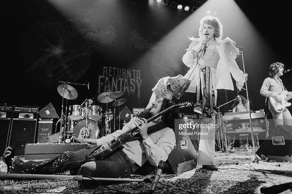Uriah Heep At Hammersmith : Nieuwsfoto's