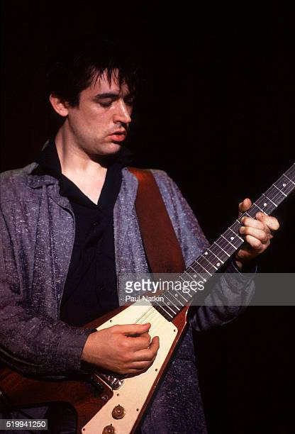 British Rock musician Chris Spedding performs onstage at Park West Chicago Illinois April 6 1979