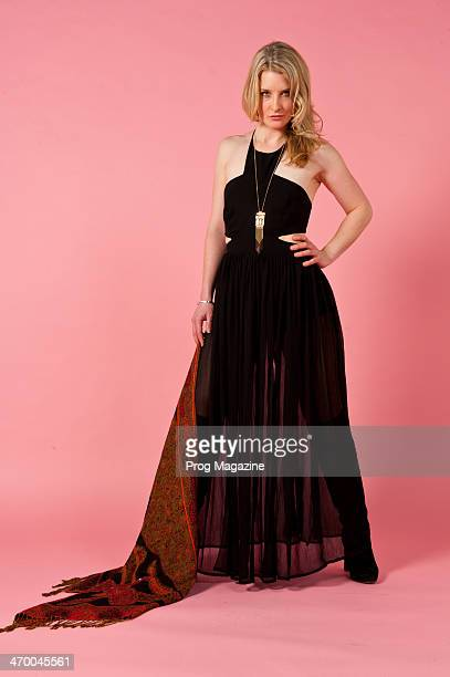 British rock musician Heather Findlay most famous for her work with progressive and folk rock band Mostly Autumn photographed during a portrait shoot...
