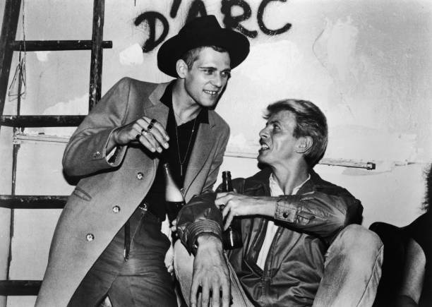 David Bowie Drinks With Paul Simonon