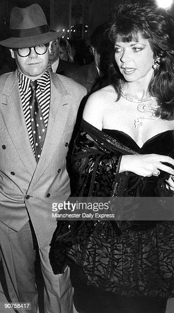 British rock star Elton John married Renate Blauel a German recording engineer in 1984 but they divorced four years later