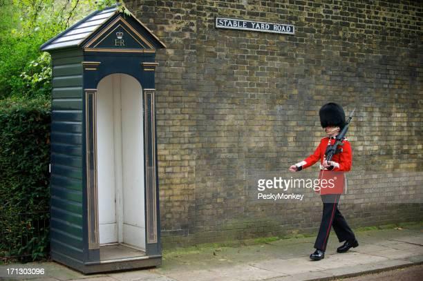 British Royal Foot Guard Marches with Bayonet London