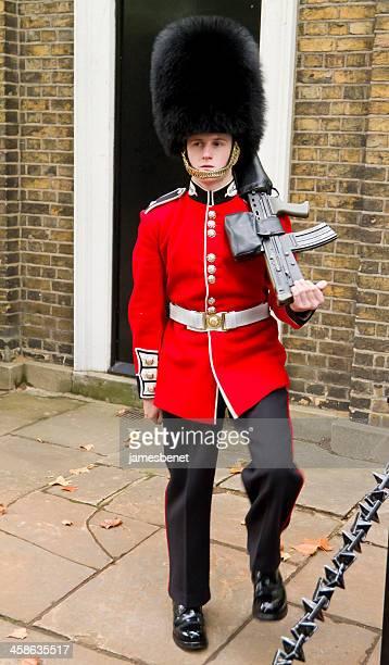 British Royal Guard Marching
