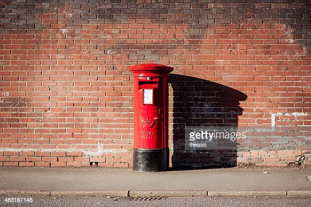 British Royal Mail Postbox