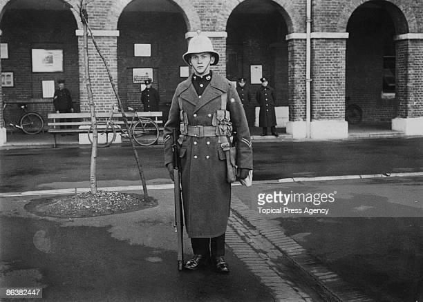 British Royal Marine Corporal Timbury orderly to the Prince of Wales circa 1925