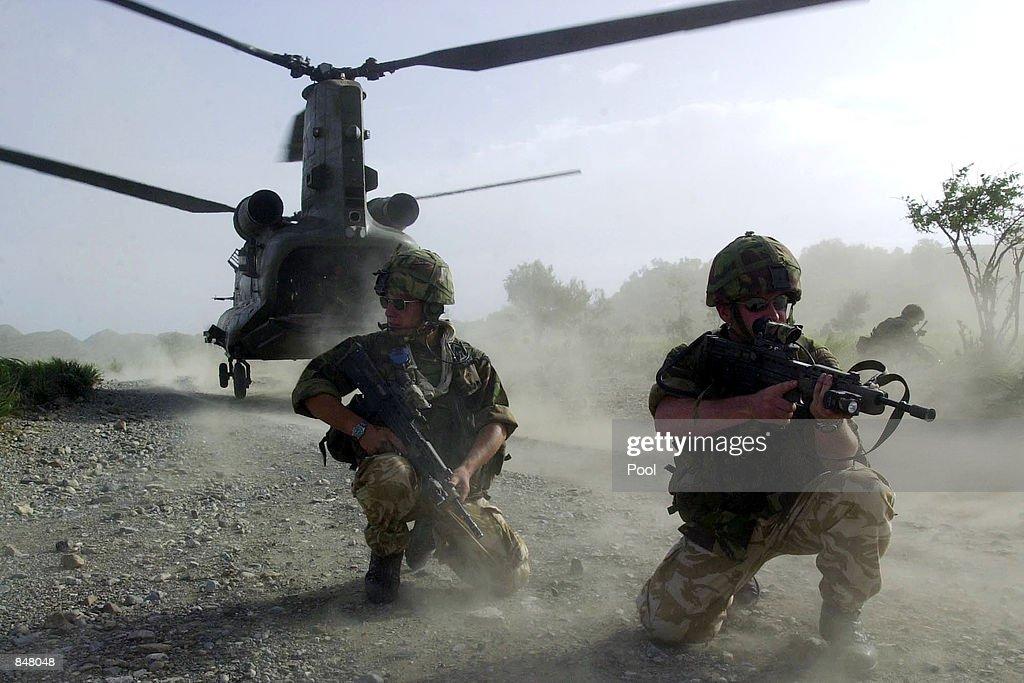 Operation Buzzard Vehicle Search Operations : News Photo