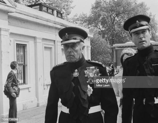 British Royal Navy officer and statesman Louis Mountbatten 1st Earl Mountbatten of Burma UK 4th June 1979
