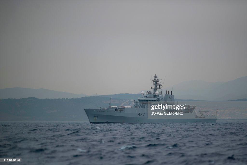 SPAIN-BRITAIN-SYRIA-IRAN-DIPLOMACY-CONFLICT : News Photo