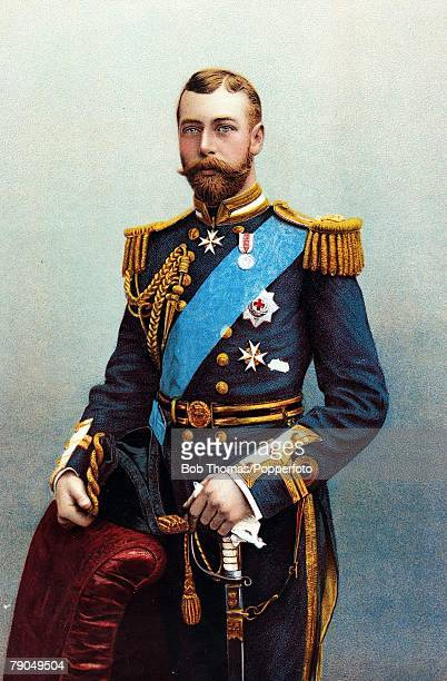 British Royalty Circa 1900 HRHThe Duke of York later King George V