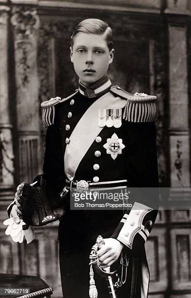 British Royalty circa 1911 HRHThe Prince of Wales close to the time of his investiture