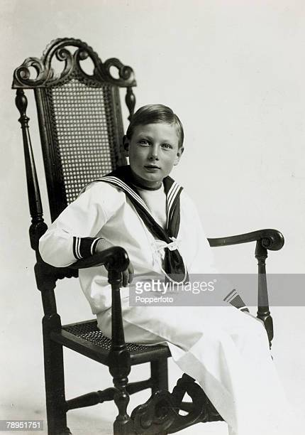 Prince John pictured in a sailor suit, Prince John, , the son of HM,King George V and Queen Mary, died of an epileptic seizure
