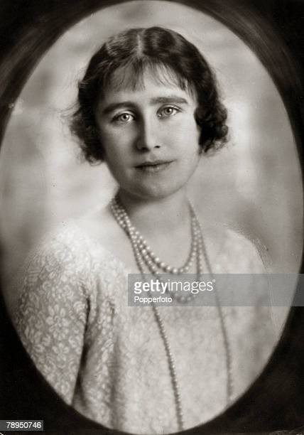The Duchess of York, portrait, The Duchess of York, born Lady Elizabeth Bowes-Lyon, was Queen Consort to King George VI, and on his death became the...