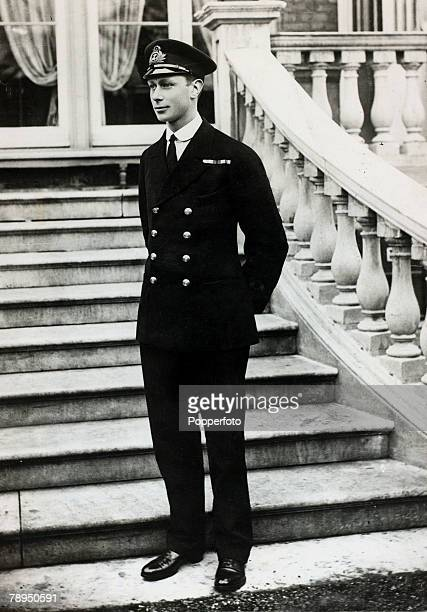 circa 1914 HRH Prince Albert pictured in naval uniform Prince Albert was Duke of York and became HMKing George VI in 1936 reigning until his death in...