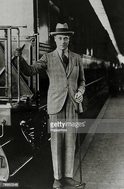 circa 1919 HRHEdward Prince of Wales The Prince of Wales was to become King Edward VIII for a short while in 1936 but abdicated due to his romance...