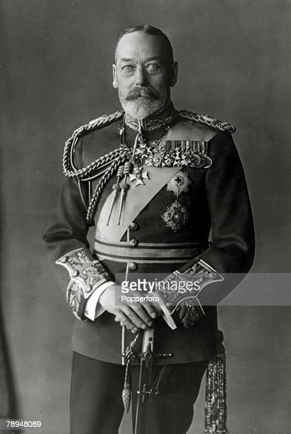 circa1920 HMKing George V portrait King George V reigned 19101936