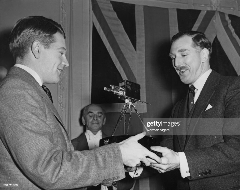 1954 BBC Sports Personality of the Year : News Photo