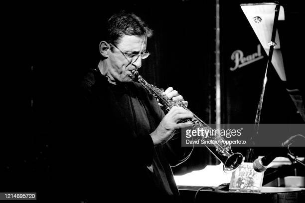 British saxophone player Dave Bitelli performs live on stage at the 606 Club in Chelsea London on 20th May 2008