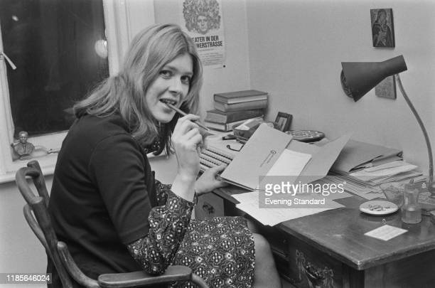 British school teacher and educationalist Margaret Maden seated at a writing desk in London on 1st December 1970 Margaret Maden is the Chairman of...