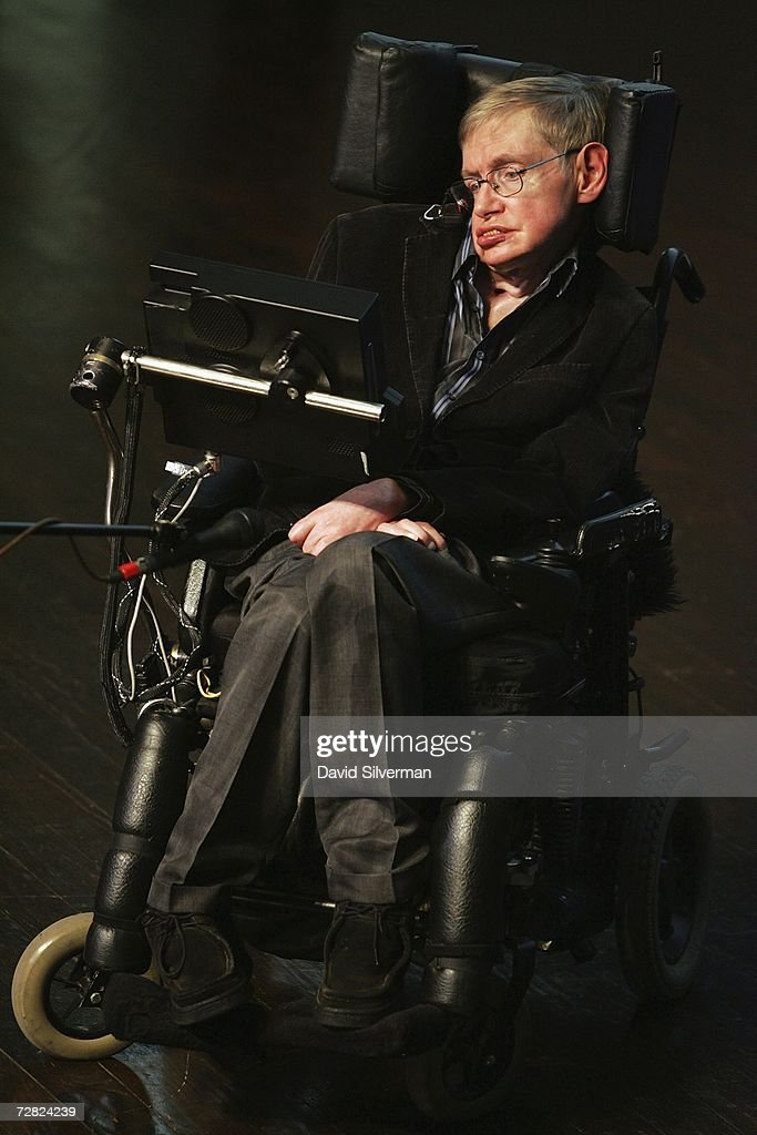 British scientist Prof. Stephen Hawking gives his u0027The Origin of the Universeu0027 lecture  sc 1 st  Getty Images : scientist in a wheel chair - Cheerinfomania.Com