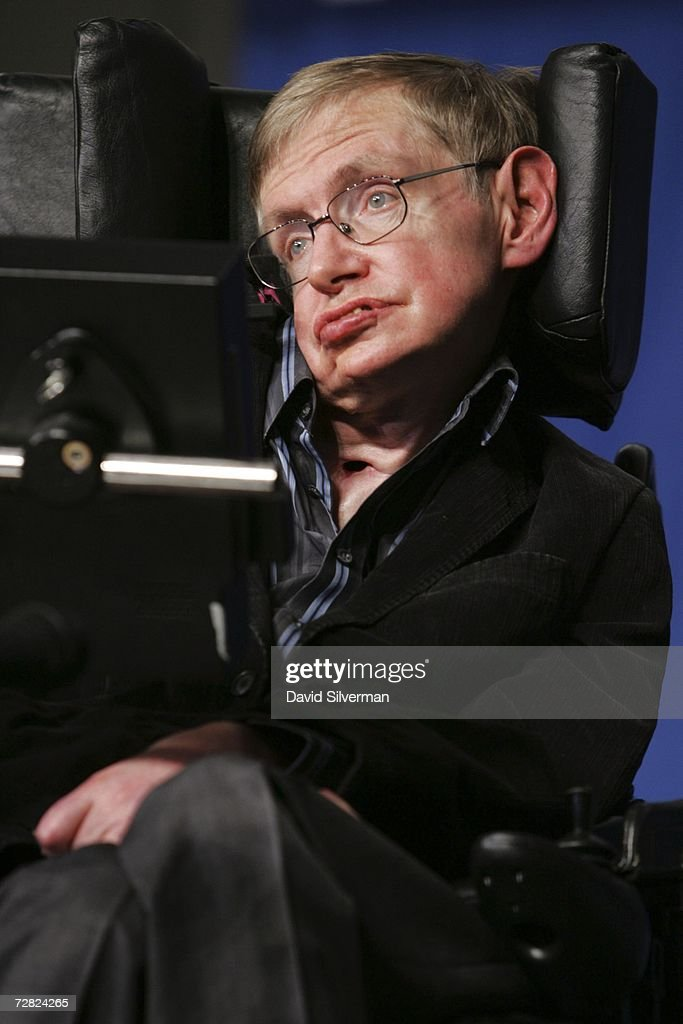 Stephen Hawking Gives Origin Of The Universe Lecture In Jerusalem : News Photo