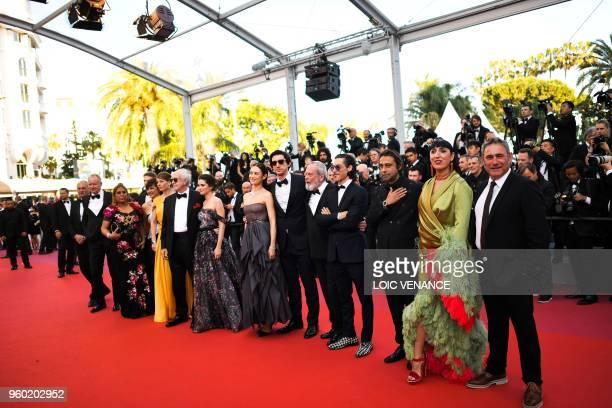 British screenwriter Tony Grisoni producer Alessandra Lo Savio two guests British actor Jonathan Pryce Portuguese actress Joana Ribeiro...