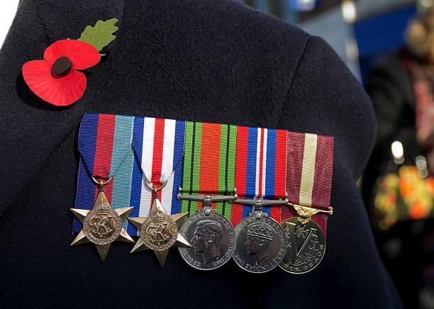 British Second World War Veteran's medals